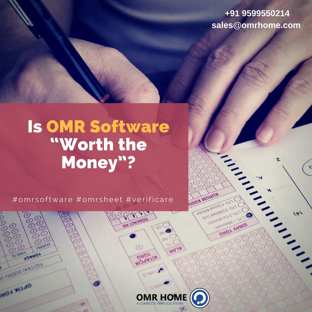 omr test grading software