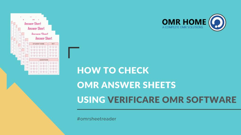 omr sheet checker software